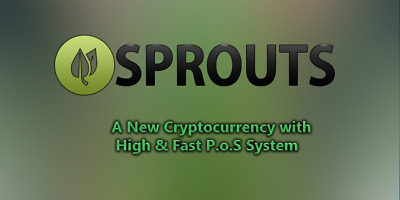 40 Million Sprout Coins - Sprouts (40 000 000) - SPRTS - Cryptocurrency