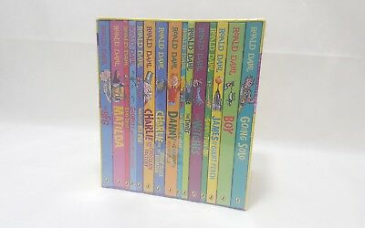 Roald Dahl  Box Set 15 Books Collection Brand New