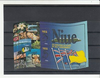 NIUE: 1999 25 Year of self Government MiniSheet. SGMS871. MUH/MNH. Going Cheap