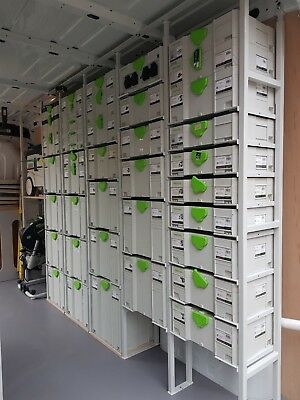 Festool Van Racking system for T-Loc Systainer Sys 1-5 & suits Fein, Panasonic