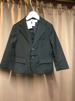 Janie And Jack Special Occasion Suit Jacket And Vest