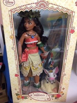 Disney, Moana doll 17inch collectable doll Ltd 6,500 worldwide