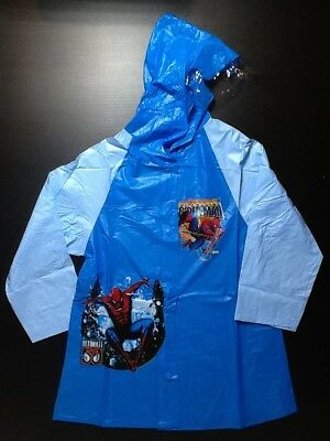 Children's Raincoat - Frozen / SpiderMan Theme - Kid's RainCoat - S / M / L / XL