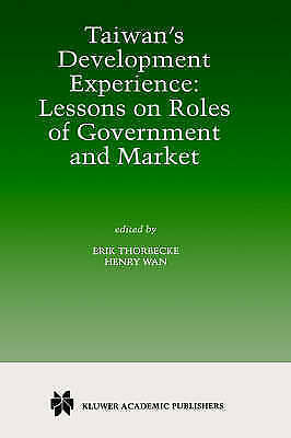 Taiwan's Development Experience: Lessons on Roles of Government and-ExLibrary