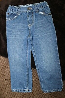 Children's Place Boys 3T Straight Denim Jeans.  Excellent condition!