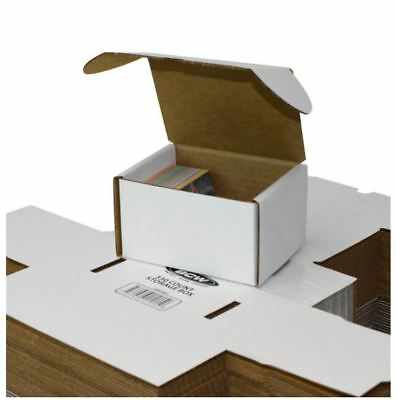 (2) BCW 330 COUNT Cardboard Storage Boxes Sports/Trading/Game Cards (2 BOXES)