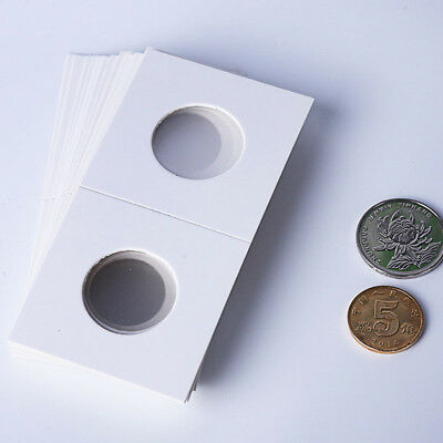 "50Pcs Portable Stamp Coin Holders Cover Case Storage 2X2"" Flip 17.5mm - 40mm"