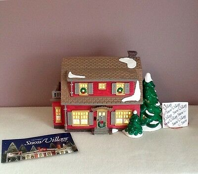 Dept. 56 Dutch Colonial House # 54856 Retired