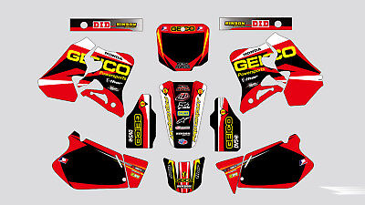 FLU PTS4 graphics Honda 1995 1996 1997 CR125 CR125R & 1995