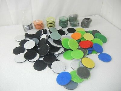 RTI Eco Smart Buffing Discs Pads Mixed Colors Lot (184) NEW!!