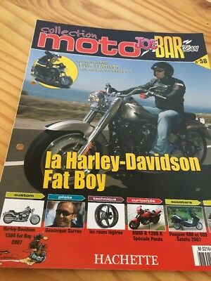 Joe Bar Team fasicule n° 58 collection moto Hachette revue magazine brochure