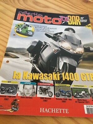 Joe Bar Team fasicule n° 60 collection moto Hachette revue magazine brochure