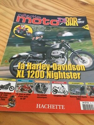 Joe Bar Team fasicule n° 66 collection moto Hachette revue magazine brochure