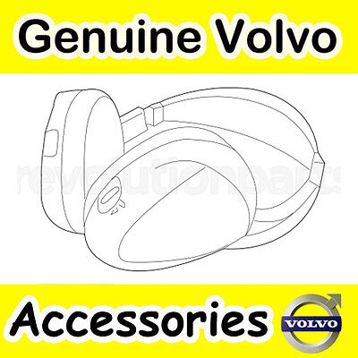 Genuine Volvo Headphones S80, V70, XC70, XC60, XC90