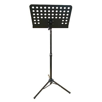 Artist MUS004 Orchestral Music Stand with Adjustable Solid Bookplate - New