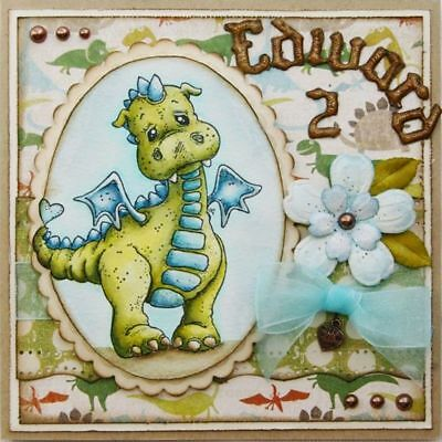 Dinosaur Transparent Stamps Metal Cutting Dies Scrapbooking Embossing DIY Crafts