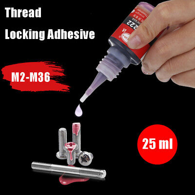 Thread Lock For Nuts Bolts Screws Threads Anti Vibration Anaerobic Glue Adhesive