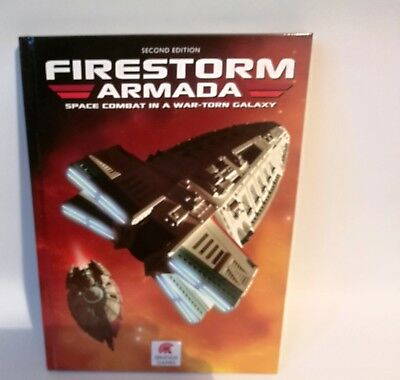 Firestorm Armada 2nd Edition Rulebook Spartan Games english