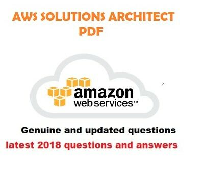 AWS Certified Solutions Architect Associate actual Exam PDF