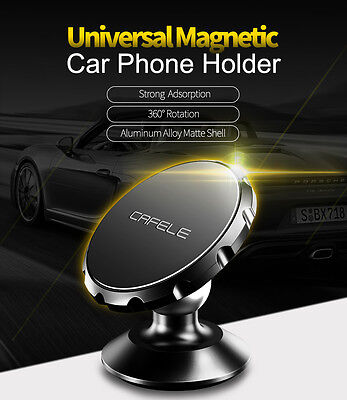 Universal 360° Rotating Car Dashboard Magnetic Holder Mount Stand For Cell Phone