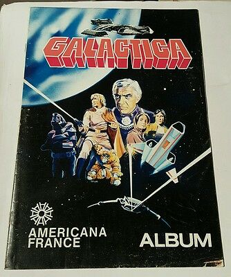 Battlestar galactica sticker album 1978 americana france