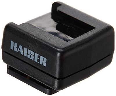Kaiser Flash Shoe Adapter with Hot Flash Shoe