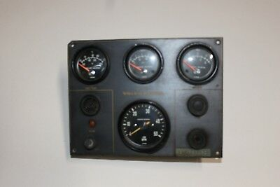 Volvo Instrument Panel All Gauges, Key Switch (No Key) And Buzzer.  Used.