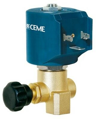 """CEME 9934 1/4"""" STEAM VALVE 230/50 2.8mm Spares Available steam iron press water"""