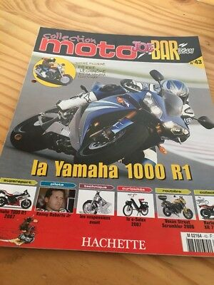 Joe Bar Team fasicule n° 43 collection moto Hachette revue magazine brochure