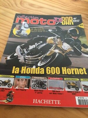 Joe Bar Team fasicule n° 44 collection moto Hachette revue magazine brochure