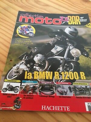 Joe Bar Team fasicule n° 51 collection moto Hachette revue magazine brochure