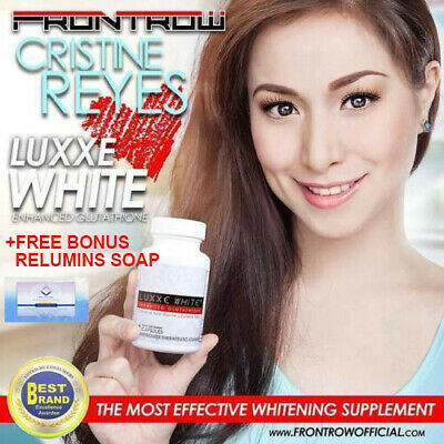 Authentic Luxxe White Enhanced Glutathione - 60 Capsules - By FrontRow BIG SALE