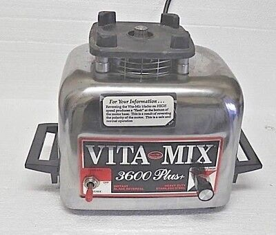 Vita Mix  # 3600 Plus  Base Only Works Perfect Top Gear Looks Mint
