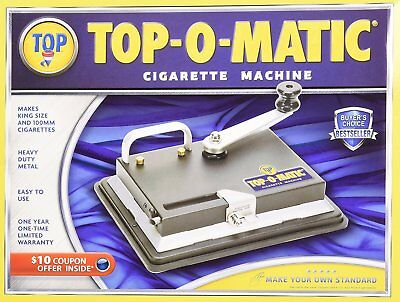 Top - O - Matic Cigarette Tobacco Machine - Power Roll King Size & 100mm White