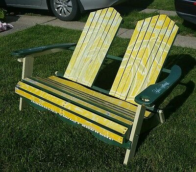 Yuengling Beer dual folding beach chair PROMOTIONAL GIVEAWAY extremely rare find