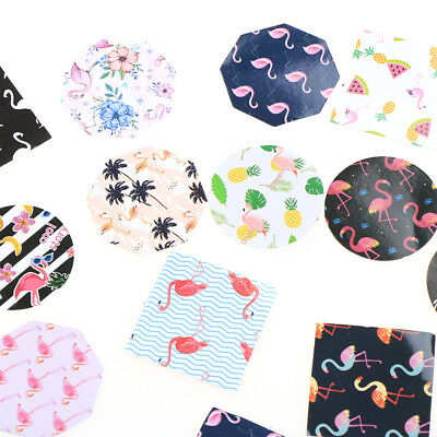 45 Pcs/lot Flamingo Paper Diy Diary Scrapbooking Labels Sticker Stationery Decor