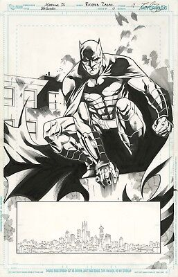 Batman Splash By Marcus To! Batwing Issue 0. Awesome!
