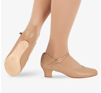 Capazio Nude Character Dance Shoes, Size 8.5N