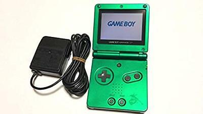 GAME BOY ADVANCE SP Rayquaza Edition Game Console POKEMON F/S from JAPAN w/Track