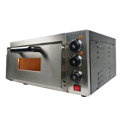"""Electric Pizza Oven Single Deck Commercial  Baking  16"""" Fire Stone UK stock"""
