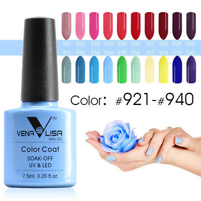 Artlalic UV Soak off Gel Venalisa Color Gel 7.5 ml Nail Lacquer Varnish Top Coat