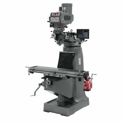 Jet 691087 JTM-4VS-1 Mill With Newall DP700 DRO With X-Axis Powerfeed