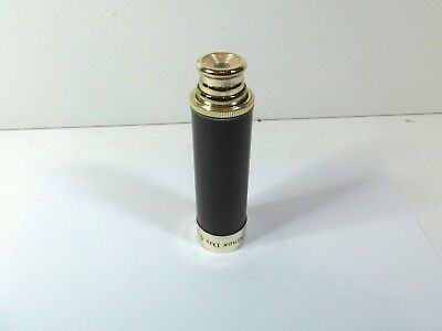 Small brass INFRA MINOX DAY & NIGHT 25 X 30MM pocket telescope