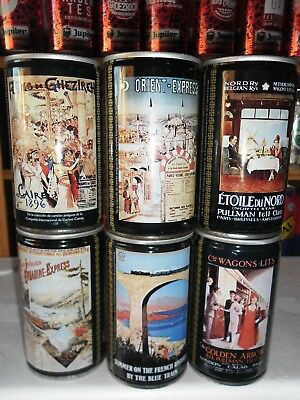 6 Can set from Spain,complete set, excellent condition.
