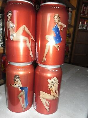 4 Can girl set complete set, excellent condition.