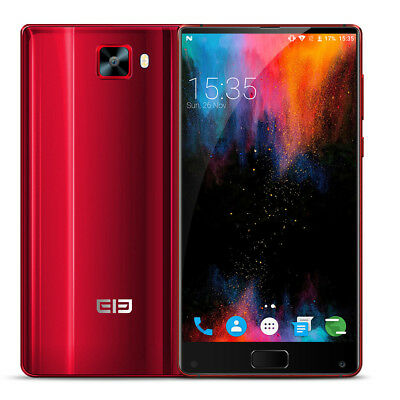 "6""Elephone S8 4G Smartphone Android 7.1 4GB+64 GB Dual SIM 21MP Camera OTG RED"