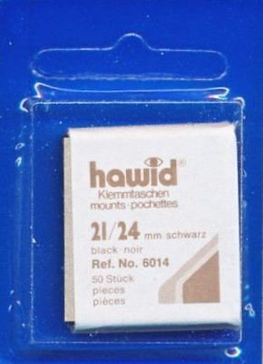 Hawid Stamp Mounts Cut to Size - Black or Clear -  SAVE 20%