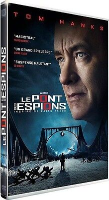 DVD //  LE PONT DES ESPIONS  //  Film de Spielberg [ Tom Hanks ] NEUF cellophané