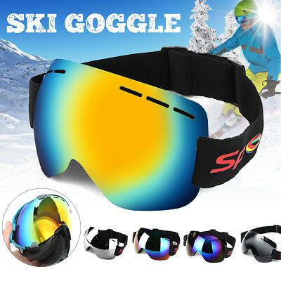 Anti-fog UV Skiing Snowboard Adult Goggles Ski Sunglasses Winter Snow Glasses