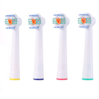 4 12 20 pcs Electric Toothbrush Replacement Heads For Oral B Braun Models Series